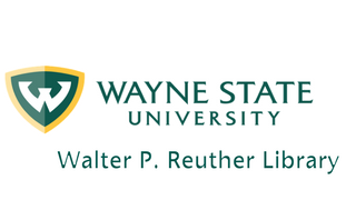 Official logo of the Walter P. Reuther Library, Wayne State University 2017-11-15